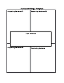 4 Square Writing Template