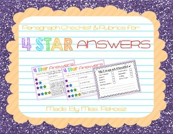 4 Star Answers - FREEBIE!