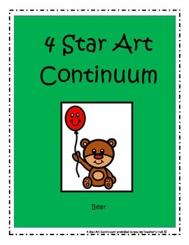 4 Star Art Continuum - How to help students achieve their