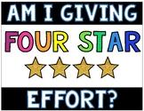 4 Star Effort Assessment