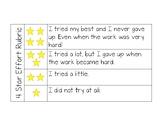 4 Star Effort Rubric