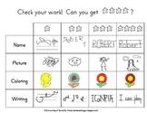 4-Star Kindergarten Rubric