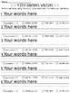 4-Star Sentence Writing - Editable!