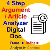 4 Step Argument/Article Analyzer – Digital Doc