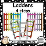 4 Step Ladder Clipart