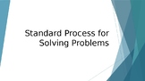 4 Step Process for Solving Problems Power Point