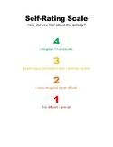 4 Step Self-Rating Scale