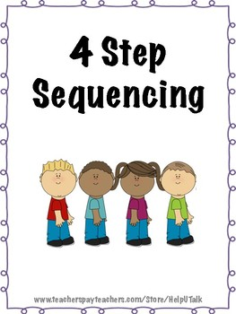 photo about 4 Step Sequencing Pictures Printable called 4 Stage Sequencing Playing cards Worksheets Schooling Supplies TpT