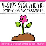 4-Step Sequencing Printable Worksheets
