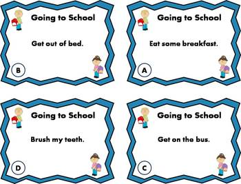 4-Step Sequencing Task Cards