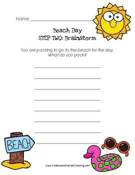 4-Step Summer Writing Pack