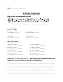 4-String Guitar worksheet