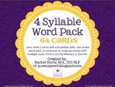 4 Syllable Word Pack