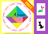 Tangram: 4 Shapes - The new Classic Collection - Puzzle Ca