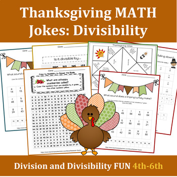 Fun Math Worksheets for Middle School:  Division