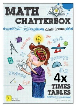 4 Times Tables Chatterboxes