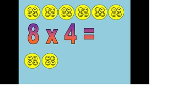 4 Times Tables and Division Package
