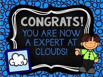4 Types of Clouds Review Powerpoint