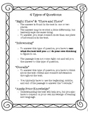 4 Types of Questions (test prep)