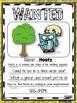 4 Types of Sentences Grammar Craftivity: WANTED Ad