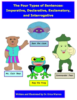 4 Types of Sentences Imperative Declarative Exclamatory Interrogative