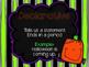 4 Types of Sentences PowerPoint Halloween Themed