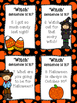 4 Types of Sentences Task Cards Halloween Themed