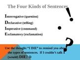 4 Types of Sentences
