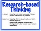 4 Types of Thinking Posters