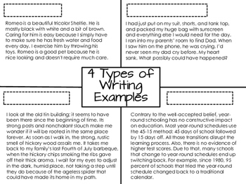 4 Types of Writing Notes & Presentation