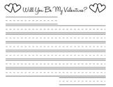 4 Valentine Worksheets