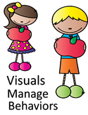 4 Visuals to Teach and Manage Behaviors