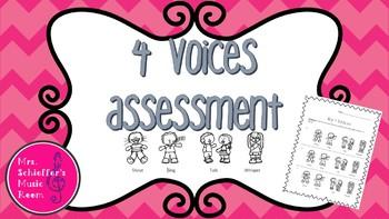 4 Voices Assessment