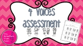 4 Voices Assessment