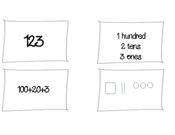4 Ways to Write a Number Task Cards