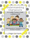 4 Week Common Core Reading Unit- Understanding Characters-