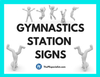 4 Week Gymnastics Unit Plan and Resources Pack for Physical Education