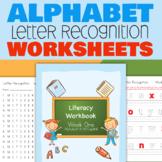4 Week Letter Recognition Workbook