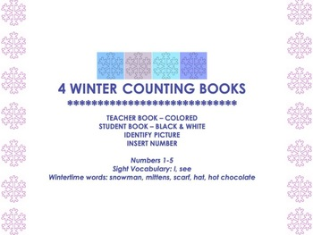 4 Winter Counting Books (1-5)