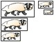 4 Wisconsin State Symbols themed Size Sequence Preschool Learning Games.