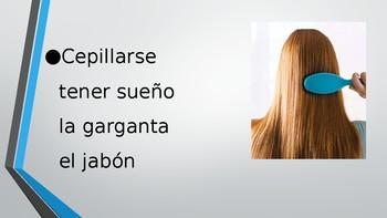 4-Word (Cuatro Palabra) Game Speaking Vocab. Practice Span. 2  Avancemos 2 2.2