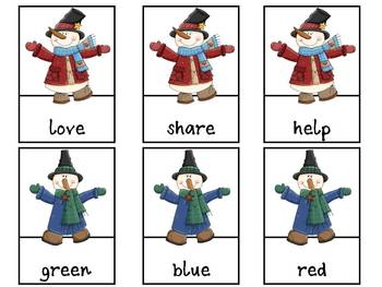 4 Word Work Centers - Christmas & Winter Themes
