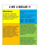 4 X 4 RATIOS & PROPORTIONS RELAY 7.RP.3