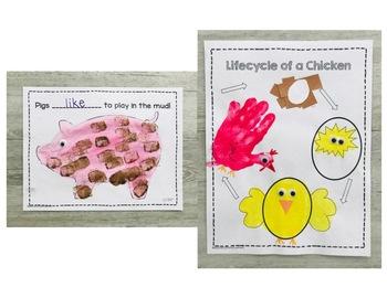 4 Year Old Preschool APRIL Lesson Plans