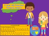 4 Year Old Progress Report