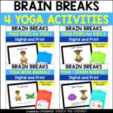 Distance Learning   Yoga Poses Bundle