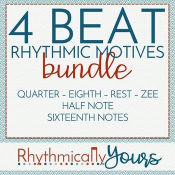 4-beat Rhythm Motives - BUNDLE