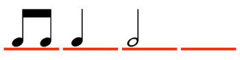 4-beat Rhythm Motives - Half Notes