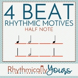 4-beat Rhythm Motives - Half Notes