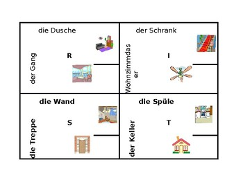 Haus (House in German) 4 by 4